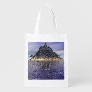 The Mountain Island Reusable Grocery Bag