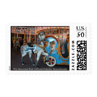 The Mountain Park Carousel Postage Stamp