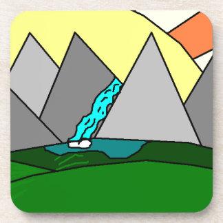 The Mountain Shine Falls Drink Coaster