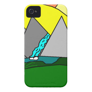 The Mountain Shine Falls iPhone 4 Cases