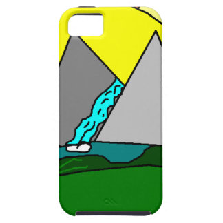 The Mountain Shine Falls iPhone 5 Cover
