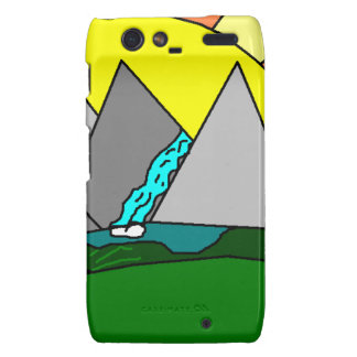 The Mountain Shine Falls Motorola Droid RAZR Cover