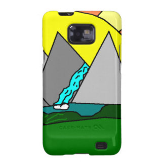 The Mountain Shine Falls Samsung Galaxy SII Cases