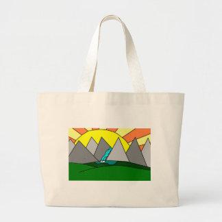 The Mountain Shine Falls Tote Bag