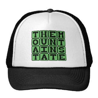 The Mountain State, West Virginia Nickname Trucker Hat