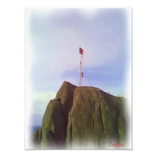 The mountain top art photo