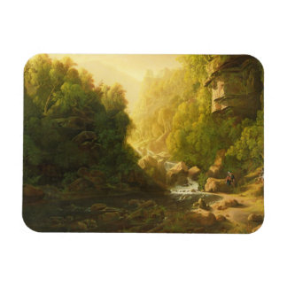 The Mountain Torrent, c.1820-30 (oil on canvas) Magnet