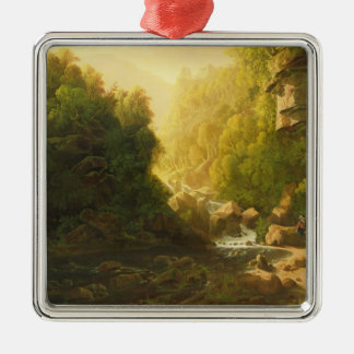The Mountain Torrent, c.1820-30 (oil on canvas) Metal Ornament