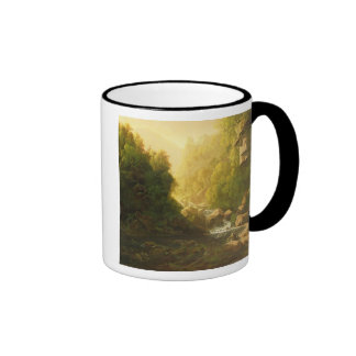 The Mountain Torrent, c.1820-30 (oil on canvas) Ringer Coffee Mug