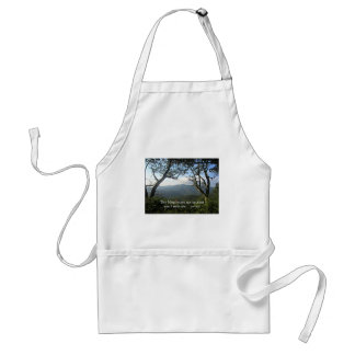 The Mountains are Calling... Adult Apron