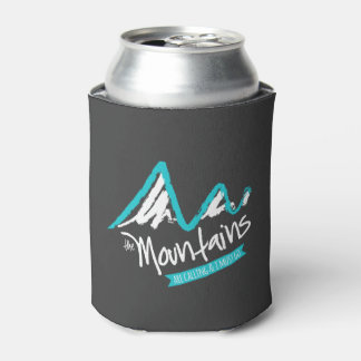 The Mountains Are Calling and I Must Go Can Cooler