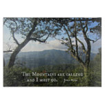 The Mountains are Calling... Cutting Board