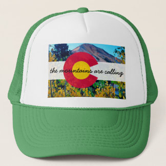the mountains are calling hat
