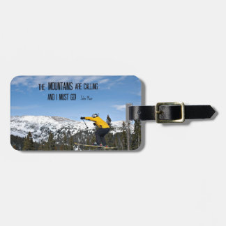 The Mountains are calling Tag For Luggage