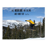 The Mountains are calling... Post Cards