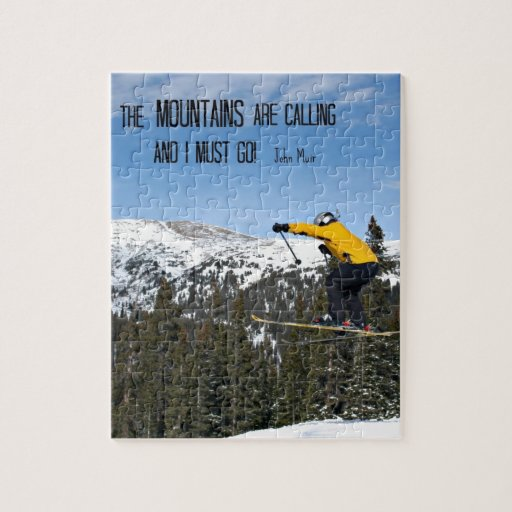 The Mountains are calling... Puzzle