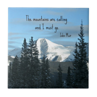 The mountains are calling... tile