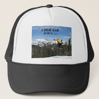 The Mountains are calling... Trucker Hat