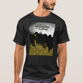 The mountains are calling tshirt design