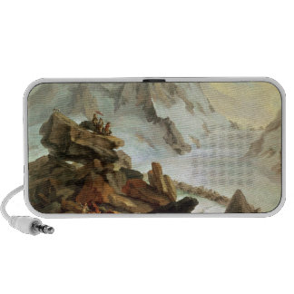 The Mountains at Lauteraar, 1776 Portable Speakers