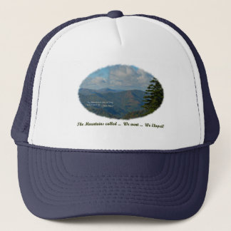 The Mountains Called / We Went / We Eloped! Trucker Hat
