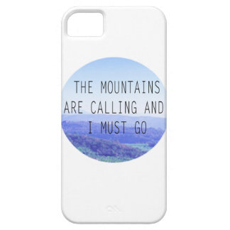 The Mountains iPhone 5 Case