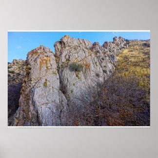 The Mountains Edge Poster