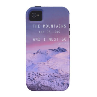 The mountains plows calling, and i must go. John M iPhone 4/4S Cover