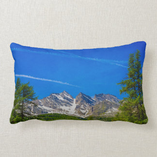 the mountains three Levanne lumbar  pillow