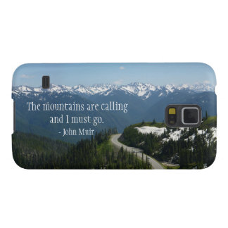The Mountians are Calling Galaxy S5 Cover