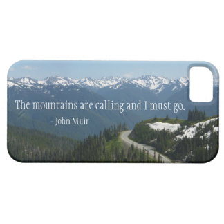 The Mountians are Calling iPhone SE/5/5s Case