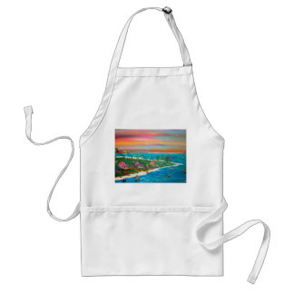 THE MOURING PELICAN ADULT APRON