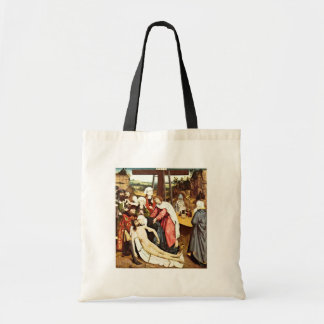 The Mourning Of Christ By Meister Des Wiener Schot Canvas Bags