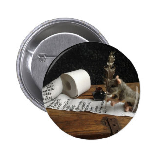"""The Mouse and ago """"tons of DO cunning """" Pinback Button"""