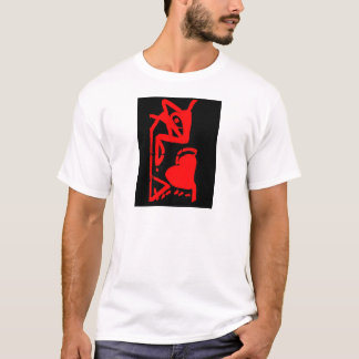 The mouse eating heart T-Shirt
