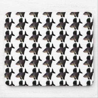 The mouse pad of Black phantom tetra, No.01