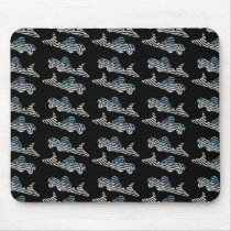 The mouse pad of Imperial Zebra Sucker Catfish, No