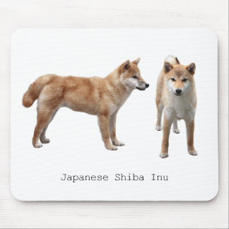 "The mouse pad ""of Japanese Shiba Inu"""