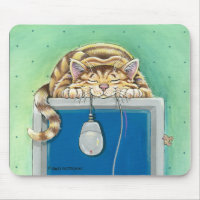 Gary Patterson Cat Mousepad