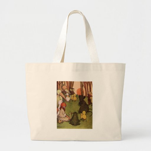 The Mouses Tale Canvas Bags