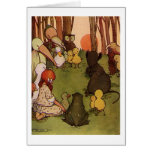 The Mouses Tale Greeting Cards