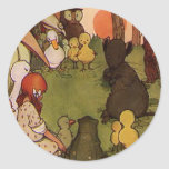 The Mouses Tale Round Stickers