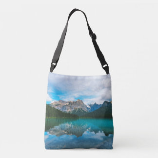 The Moutains and Blue Water Crossbody Bag