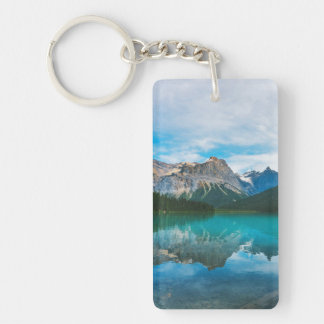 The Moutains and Blue Water Keychain
