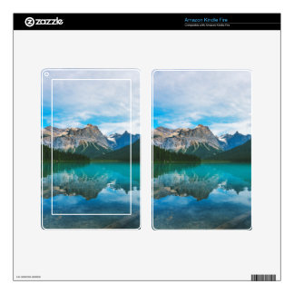 The Moutains and Blue Water Kindle Fire Skins