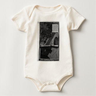 The mouth of the Cloaca Maxima by Giovanni Battist Baby Bodysuit