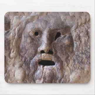 The Mouth of Truth Mouse Pad
