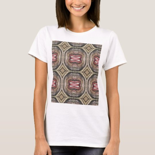 The Mouth Pattern T-Shirt