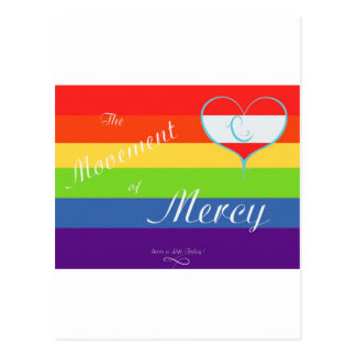 The Movement of Mercy Postcard