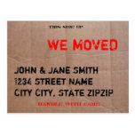 just, moved, we're, moving, new, address,